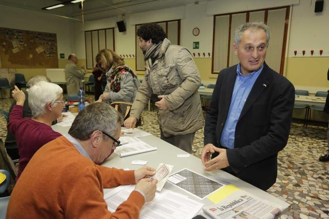 Padova, Antonino Pipitone al voto (Bergamaschi)