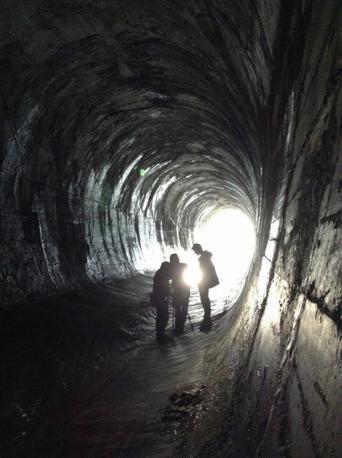 il tunnel Caproni oggi