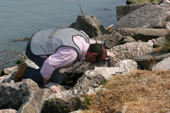L'attentato in spiaggia, a Santa Margherita