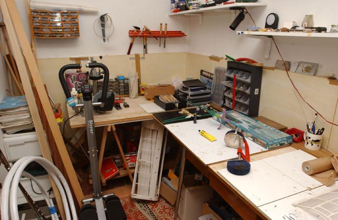 Il laboratorio dell'ingegner Zornitta