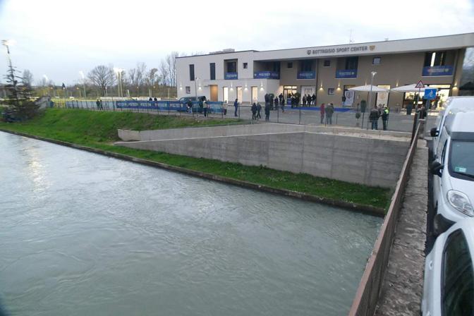 Verona. Inaugurato il centro Bottagisio per calcio canoa e scherma