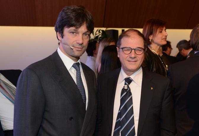 Venezia. Assemblea Confindustria. Matteo Zoppas con Vittorio Zappalorto