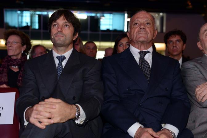 Venezia. Assemblea Confindustria. Matteo Zoppas con il padre Gianfranco Zoppas