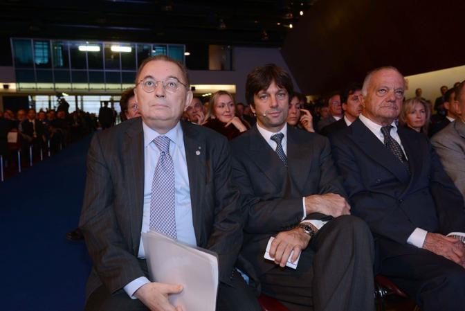 Venezia. Assemblea Confindustria. Matteo Zoppas con Giorgio Squinzi