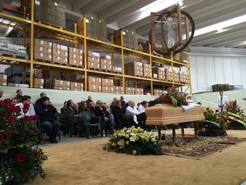 Funerale laico di Leonardo Martini (Facebook)