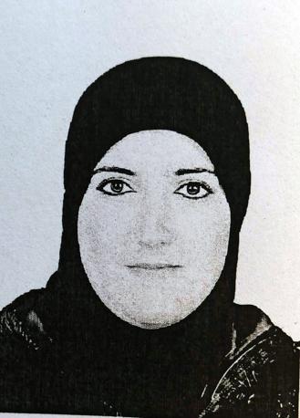 Riproduzione della foto di Nadia El Hasnaoui, la donna morta nell incendio