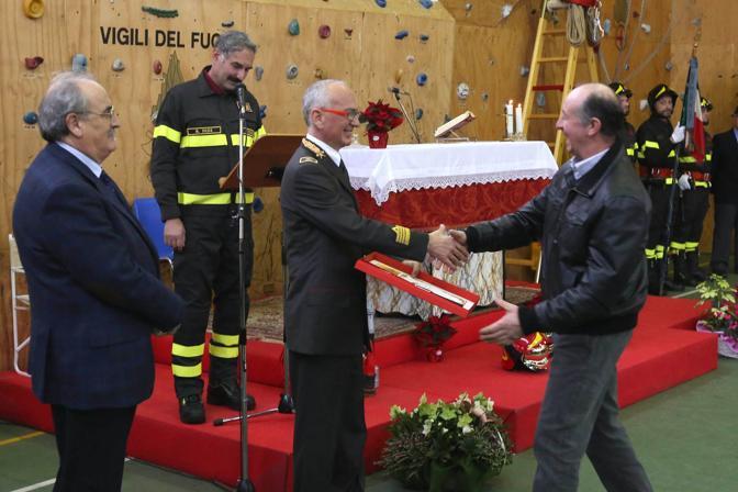 Vicenza. Cerimonia della Patrona Santa Barbara (Vito Galofaro)