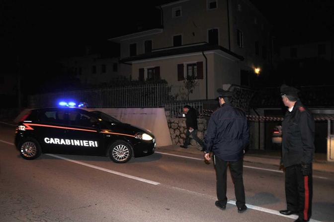 Refrontolo, la casa  dei delitti e del suicidio, in via Vittoria (foto Balanza)