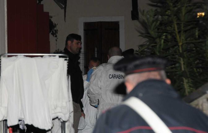 Refrontolo, la casa  dei delitti e del suicidio, in via Vittoria(foto Balanza)