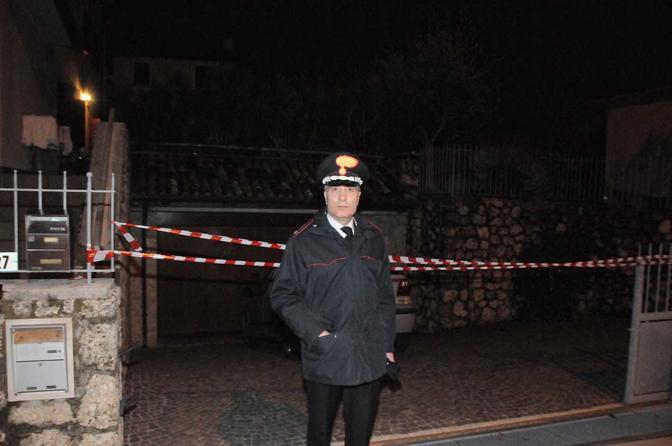 Refrontolo, rilievi e elementi del caso. Comandante Capodivento (foto Balanza)