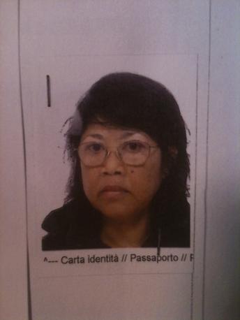 Un'altra delle vittime, la moglie Teresa Reposon