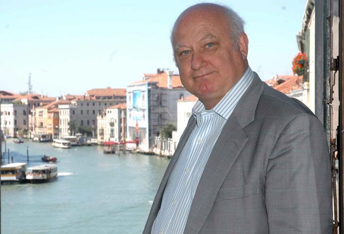 Venezia 16/04/2007 Riccardo Calimani. Lo scrittore fa parte della giuria dei letterati, è ritenuto da Odifreddi uno dei suoi più fieri oppositori