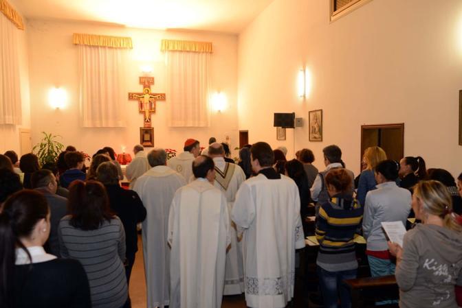 Venezia, il patriarca Francesco Moraglia visita il carcere femminile della giudecca