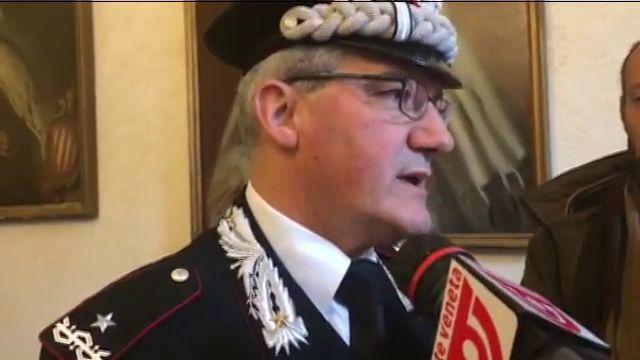 Il generale dei carabinieri Maurizio Mezzavilla