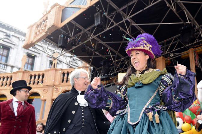 Ultima domenica di carnevale a Venezia