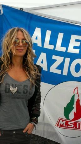 Adelina Putin di Vicenza candidata con Fratelli d'Italia sostiene Zaia
