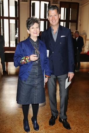 Maria Luisa Frisa e Stefano Tonchi