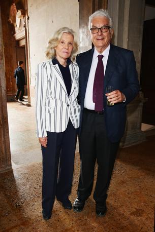 Marina Cicogna e Paolo Baratta