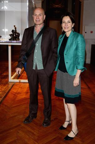 Virgilio Sieni e Daniela Giuliani