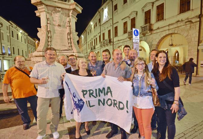 Lonigo, ballottaggio per il sindaco fra Gianesin e Restello. La festa del centrodestra