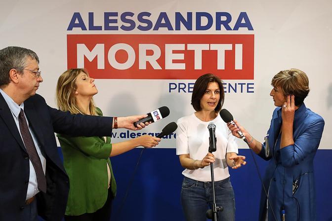 Moretti in conferenza stampa