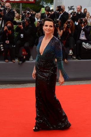 Juliette Binoche sul red carpet