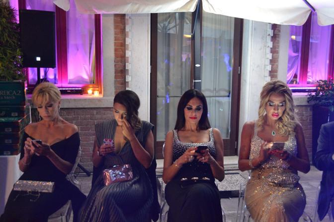 La festa di Diva e Donna al Centurion