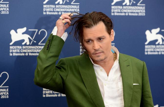 Johnny Depp alla Mostra del Cinema