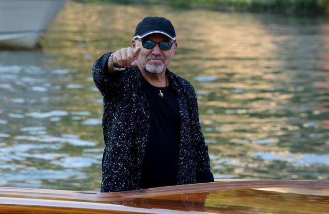 Vasco Rossi arriva al Lido di Venezia