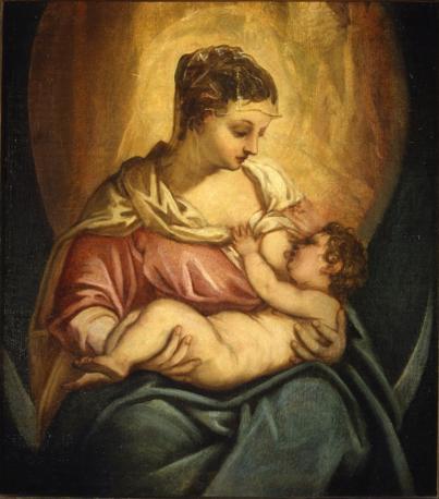 Jacopo Tintoretto, Madonna allattante