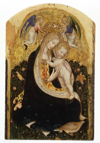 Antonio Pisano, detto Pisanello, Madonna con bambino