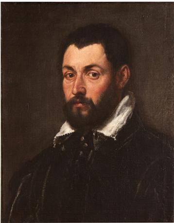 Cerchia di Jacopo Tintoretto, ritratto maschile