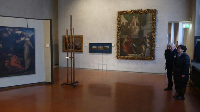 Furto al Museo, il sopralluogo il giorno dopo