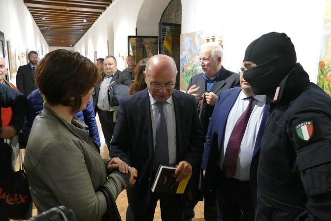 Il comandante Alfa dei Ros incontra Patrizia Tacchella vent'anni dopo averla liberata dai rapitori