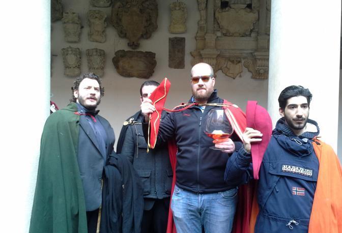 Padova, la giornata dei goliardi