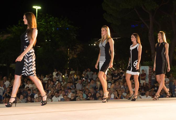 La serata di Miss Veneto a Jesolo