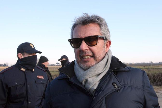 Cona, l'arrivo del questore di Venezia Angelo Sanna