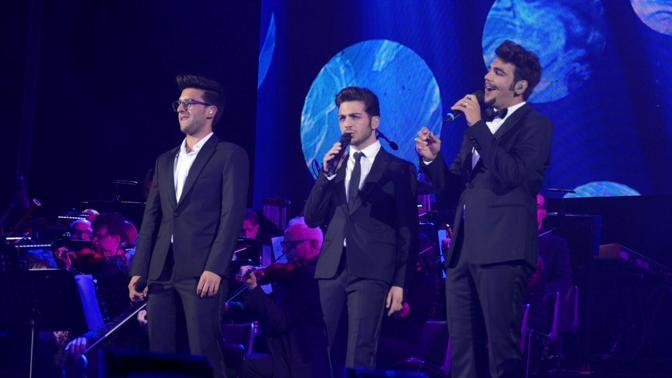 Il Volo in concerto all'Arena nel 2015 (Sartori)
