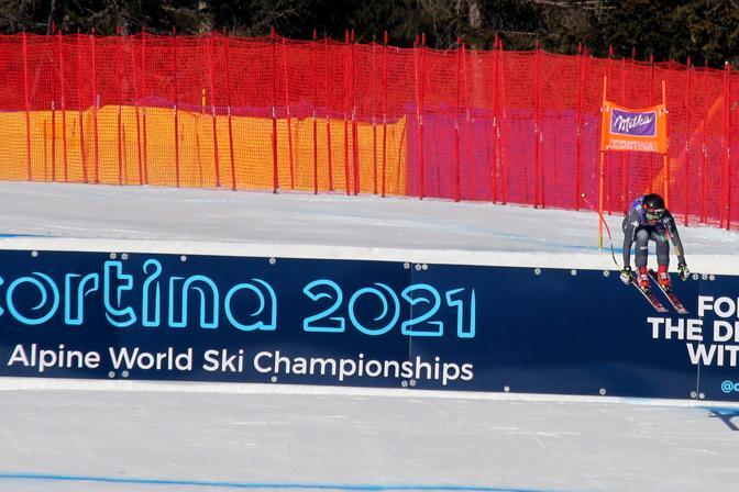 Cortina, coppa del mondo di sci femminile. Sofia Goggia