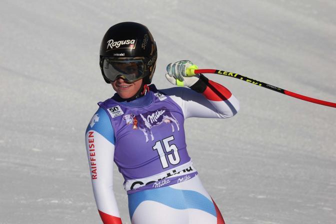 Cortina, coppa del mondo di sci femminile. Lara Gut