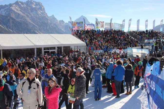 Cortina, coppa del mondo di sci femminile