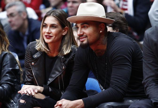 Melissa Satta e suo marito, il calciatore del Las Palmas Kevin Prince Boateng
