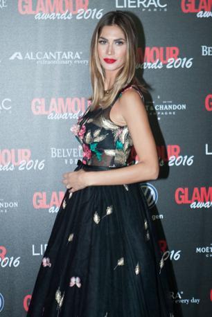 Melissa Satta all'evento Glamour Awards 2016