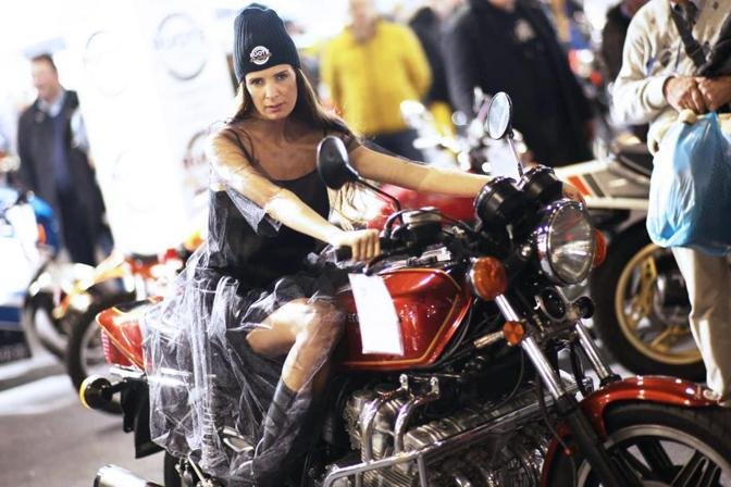 In Fiera a Verona Motor Bike Expo