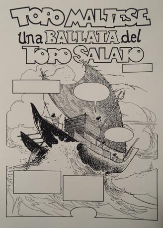 Alcuni disegni di «Topo Maltese, una ballata del topo salato»