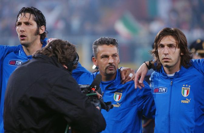 L'ultima partita in Nazionale Baggio la giocò il 28 aprile, un'amichevole contro la Spagna. Un tributo concessogli dall'allora ct Trapattoni