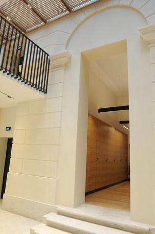 I nuovi uffici Benettton all'ex tribunale