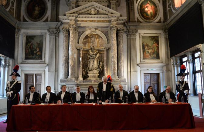 L'inaugurazione dell'anno giudiziario del Tribunale Amministrativo Regionale per il Veneto