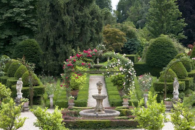 Il giardino di Villa Pisani