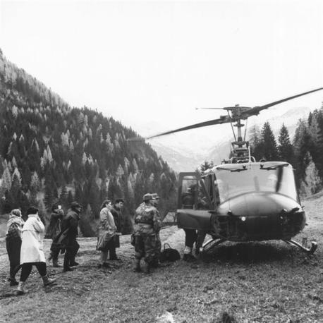 Lo sguardo di Zanfron tra Vajont e alluvione del 1966